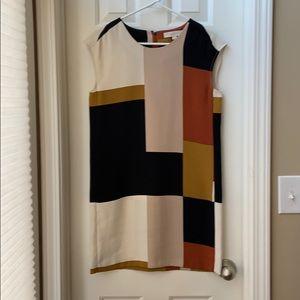 Loft colorblock sheath dress
